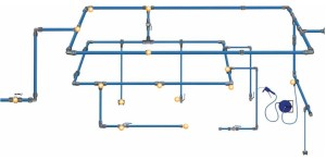 Compressed Air Modular Piping Company